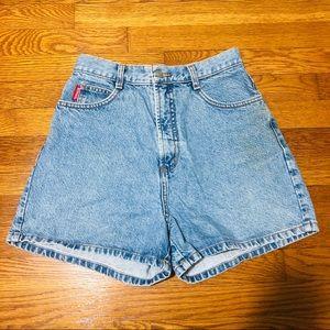 Vintage Bongo Denim Shorts High Waisted Size 4